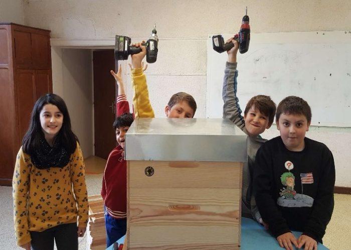 Entraygues - Ecole St Georges - Eco-école 2021