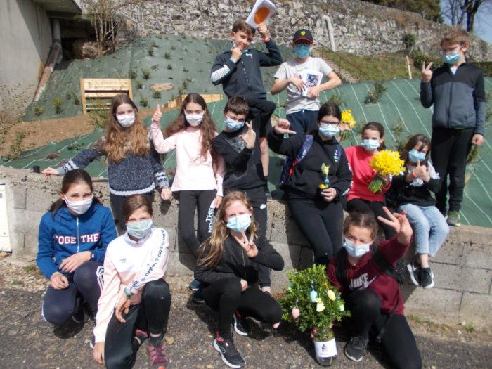 Laguiole - St Matthieu - Visite aux aînés - Mars 2021