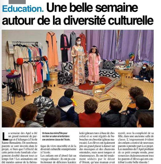 Onet - Ste Bernadette - Semaine des APEL 2021 - 2