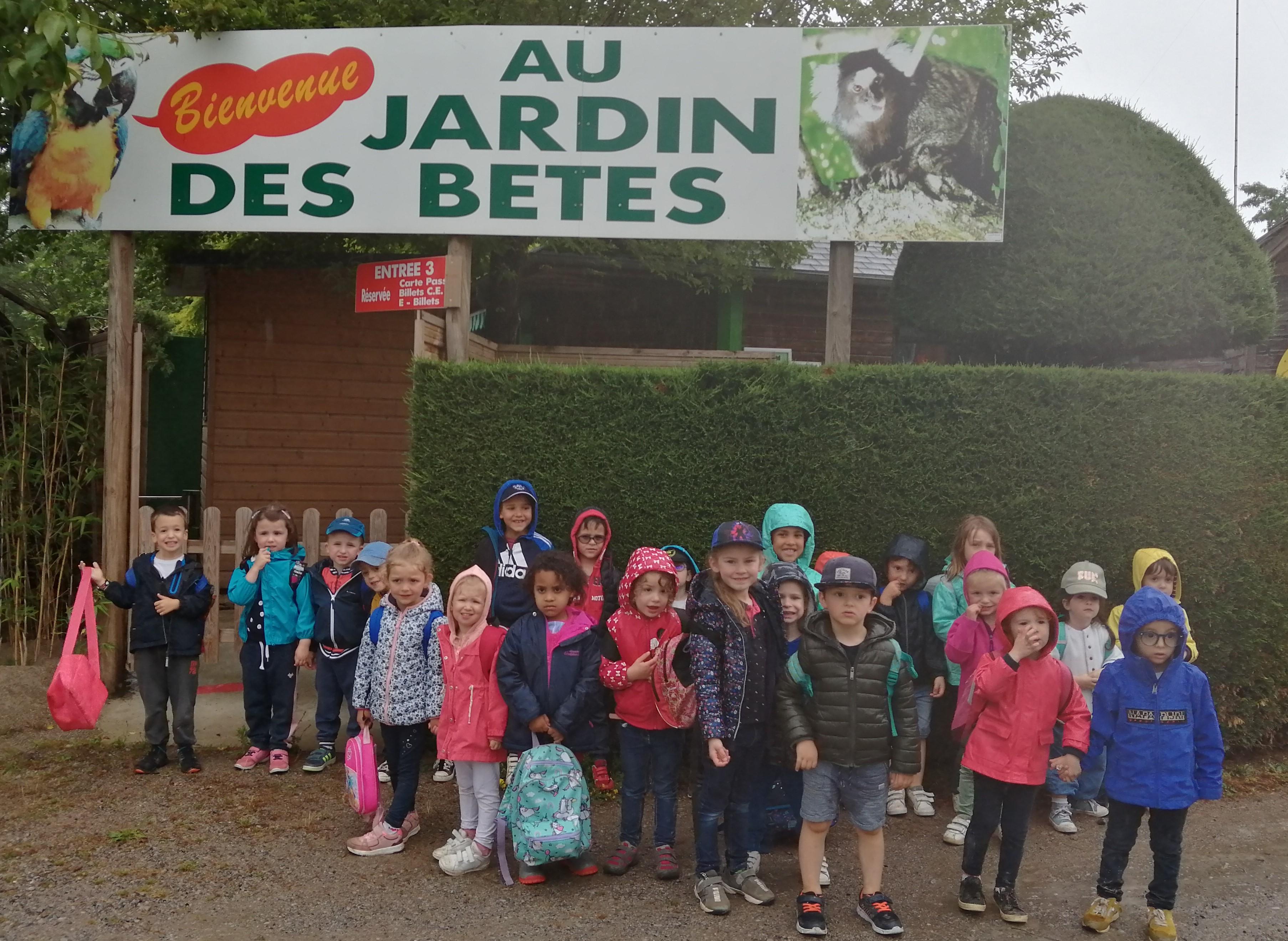 Laguiole - école St Matthieu - Jardin des Bêtes 2021